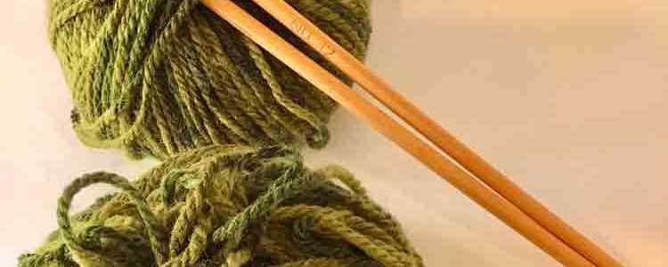 編み物のイメージ