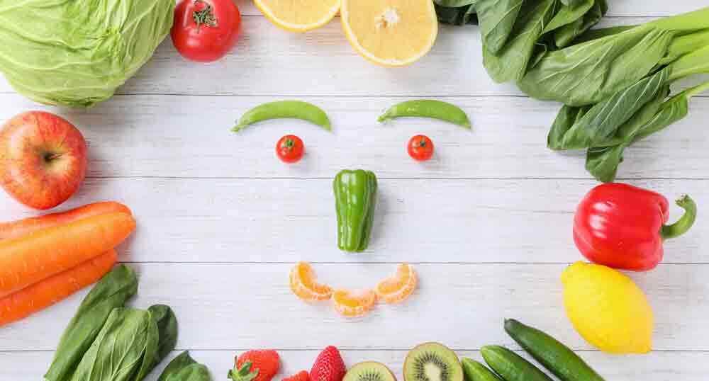 緑黄色野菜とフルーツ