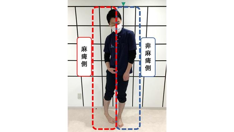 男, 立つ が含まれている画像自動的に生成された説明